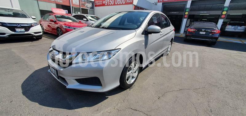 Honda City EX 1.5L Aut usado (2016) color Plata Diamante precio $195,000