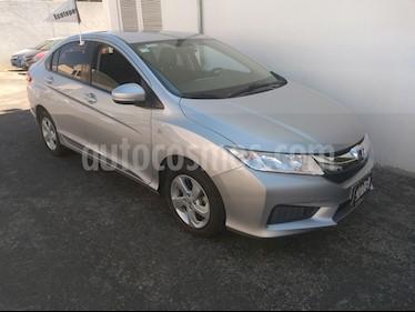 Honda City LX 1.5L Aut usado (2016) color Plata Diamante precio $200,000