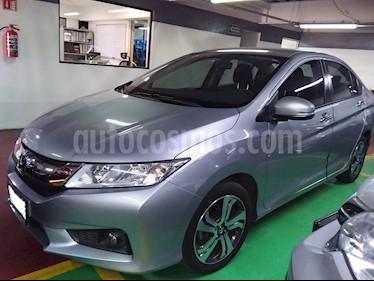 Honda City EX 1.5L Aut usado (2017) color Plata precio $217,000