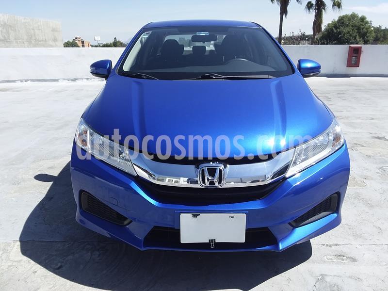 Honda City LX 1.5L usado (2017) color Azul precio $195,000
