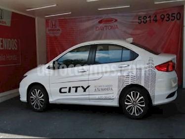 Honda City 4p EX CVT usado (2020) color Blanco precio $282,009