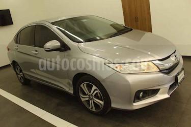 Honda City 4p EX L4/1.5 Aut usado (2017) color Gris precio $199,000