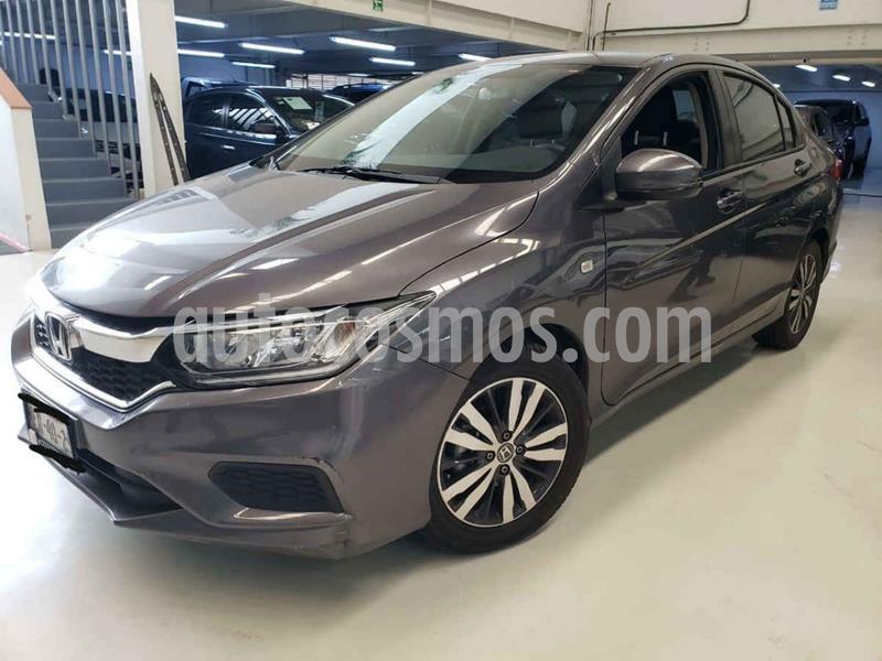 Honda City EX 1.5L usado (2018) color Gris precio $239,100