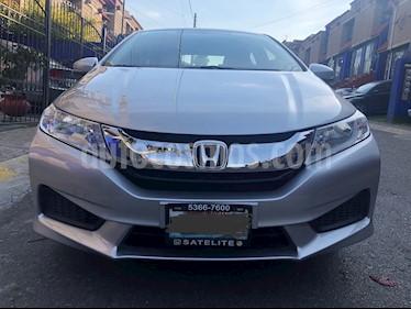Honda City LX 1.5L Aut usado (2016) color Plata precio $175,000