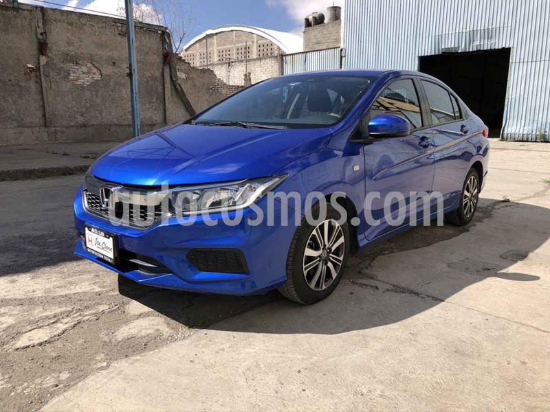 Honda City LX 1.5L usado (2018) color Azul precio $215,000