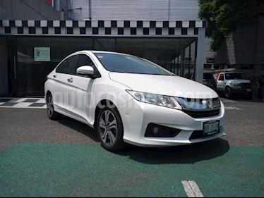 Honda City EX 1.5L usado (2017) color Blanco precio $220,000