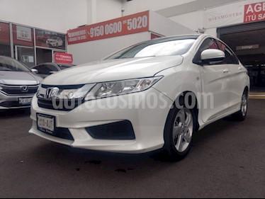 Honda City LX 1.5L usado (2017) color Blanco Marfil precio $205,000