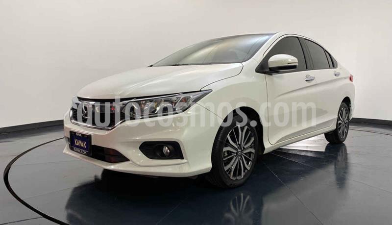 Honda City EX 1.5L Aut usado (2018) color Blanco precio $247,999