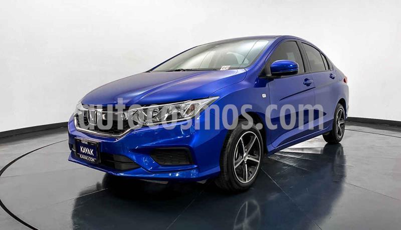 Honda City LX 1.5L usado (2018) color Azul precio $214,999