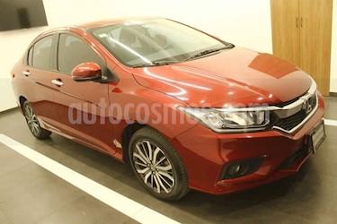 Honda City 4p EX L4/1.5 Aut usado (2019) color Rojo precio $269,000