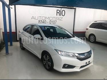 Honda City EX 1.5L usado (2017) color Blanco precio $207,000