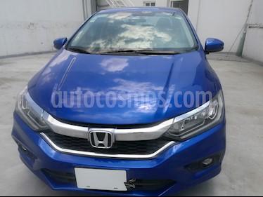 Honda City EX 1.5L Aut usado (2018) color Azul precio $220,000