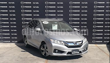 Honda City EX 1.5L Aut usado (2016) color Plata Diamante precio $225,700