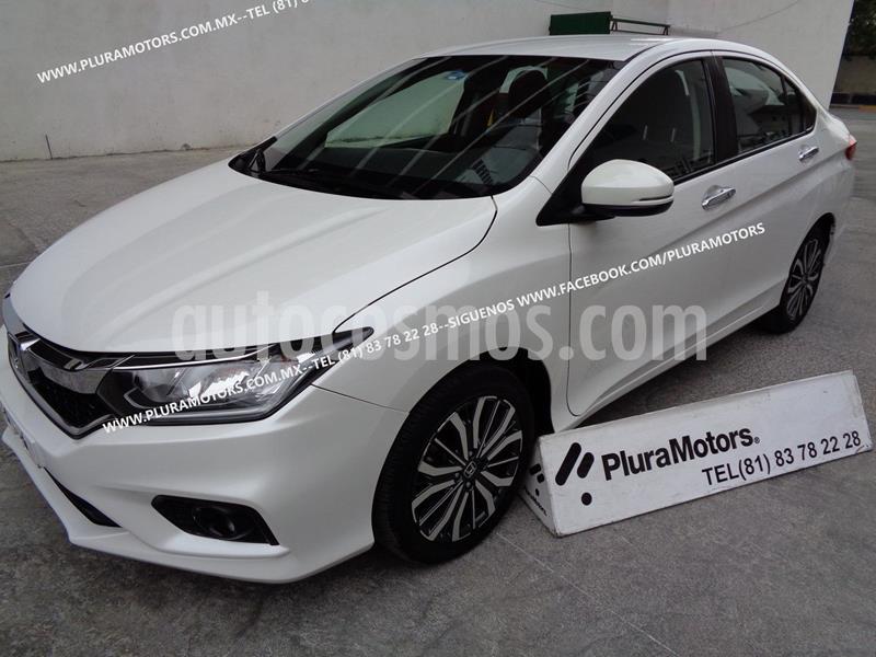 Honda City EX 1.5L usado (2018) color Blanco precio $229,000
