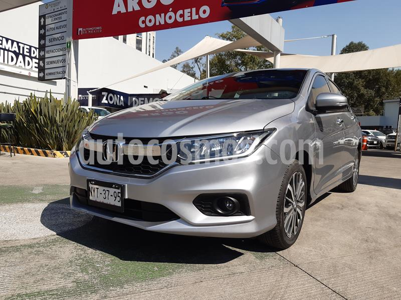 Honda City EX 1.5L Aut usado (2018) color Plata Diamante precio $231,000