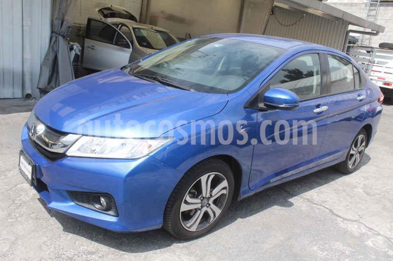 Honda City EX 1.5L Aut usado (2017) color Azul precio $219,000