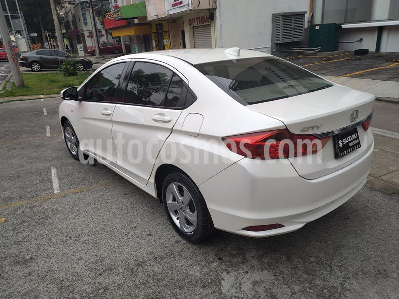 Honda City LX 1.5L usado (2016) color Blanco precio $178,000
