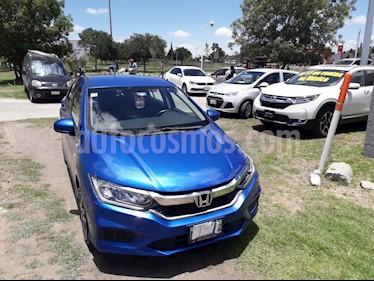 Honda City EX 1.5L usado (2018) color Azul precio $195,000