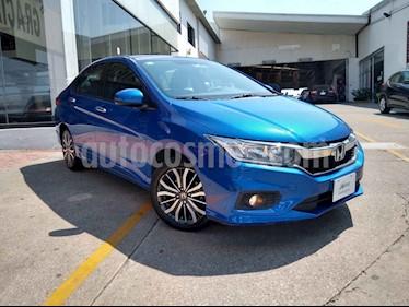 Honda City 4p EX L4/1.5 Aut usado (2018) color Azul precio $225,000