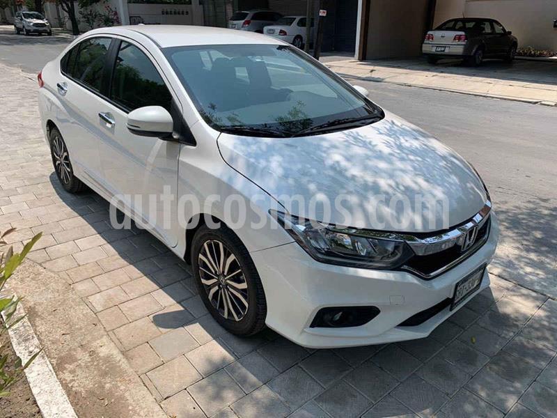 Honda City EX 1.5L Aut usado (2018) color Blanco precio $249,900