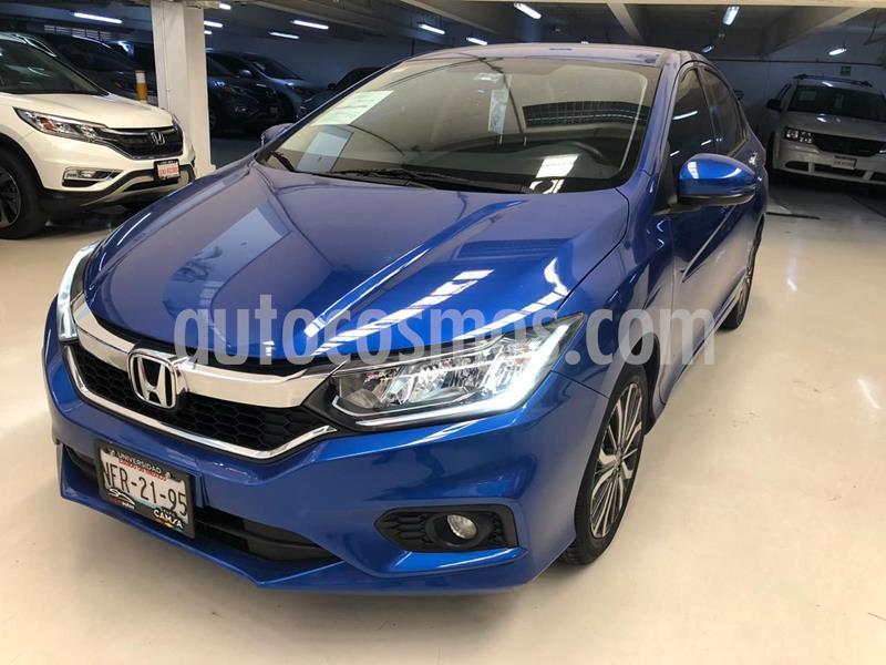 Honda City EX 1.5L usado (2018) color Azul precio $254,100