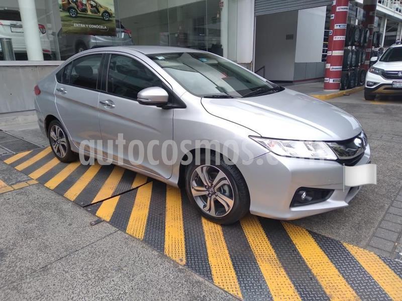 Honda City EX 1.5L usado (2014) color Plata Dorado precio $167,000