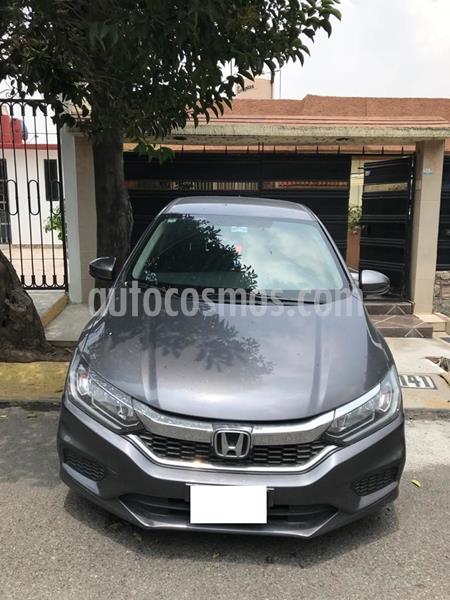 Honda City LX 1.5L usado (2019) color Gris Oscuro precio $240,000