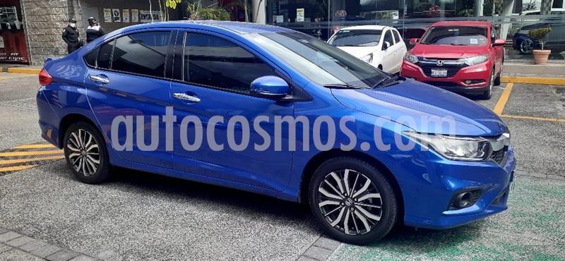Honda City EX 1.5L usado (2018) color Azul precio $249,551