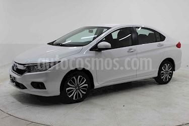 Honda City 4p EX CVT usado (2020) color Blanco precio $292,000