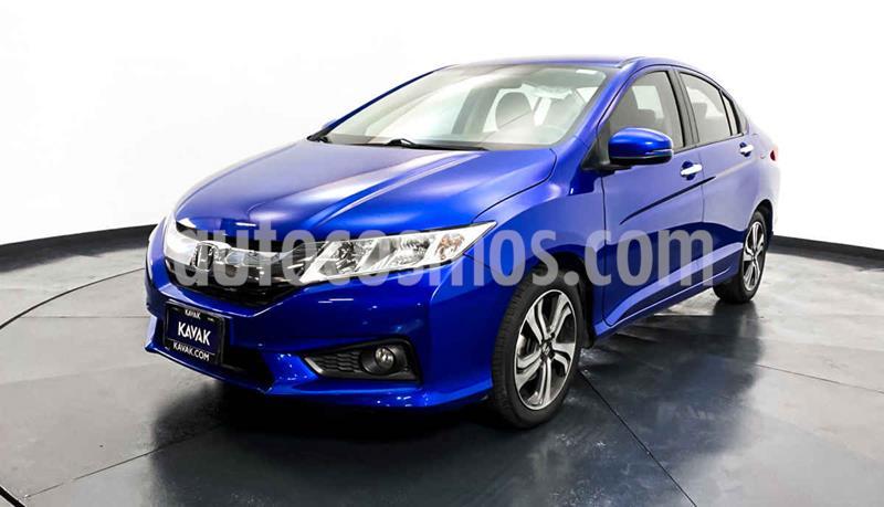 Honda City EX 1.5L Aut usado (2017) color Azul precio $212,999