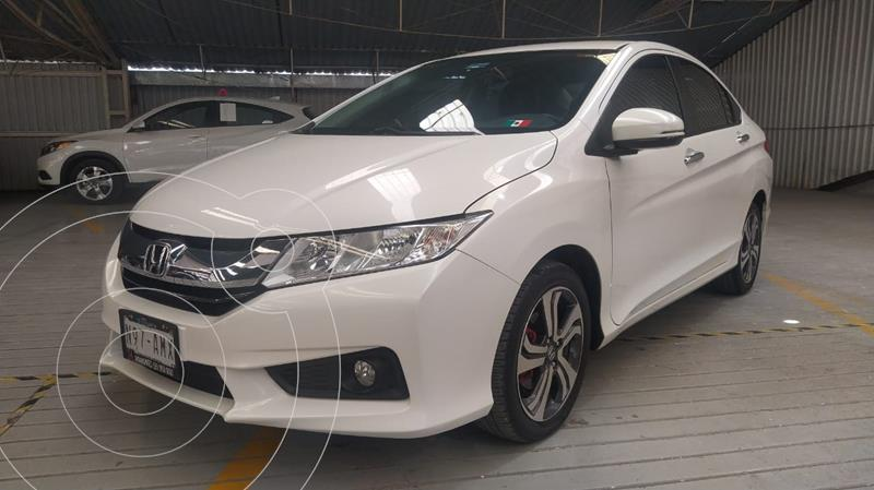 Foto Honda City EX 1.5L usado (2017) color Blanco Marfil precio $225,000