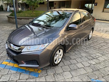 Honda City LX MANUAL usado (2015) color Gris precio $179,000
