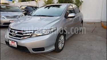 Honda City 4p DAT LX aut usado (2013) color Plata precio $149,000
