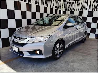 Honda City EX 1.5L Aut usado (2017) color Plata Diamante precio $199,000