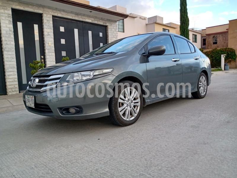 Honda City EX 1.5L usado (2012) color Gris Oscuro precio $119,000