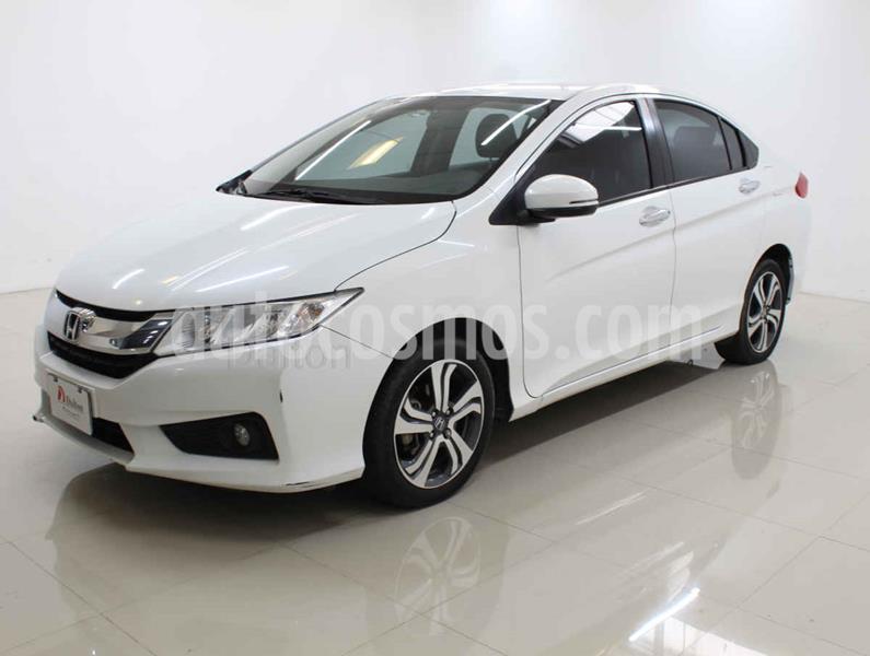 Honda City EX 1.5L Aut usado (2017) color Blanco precio $210,000