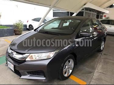 foto Honda City LX 1.5L usado (2015) color Gris precio $173,000