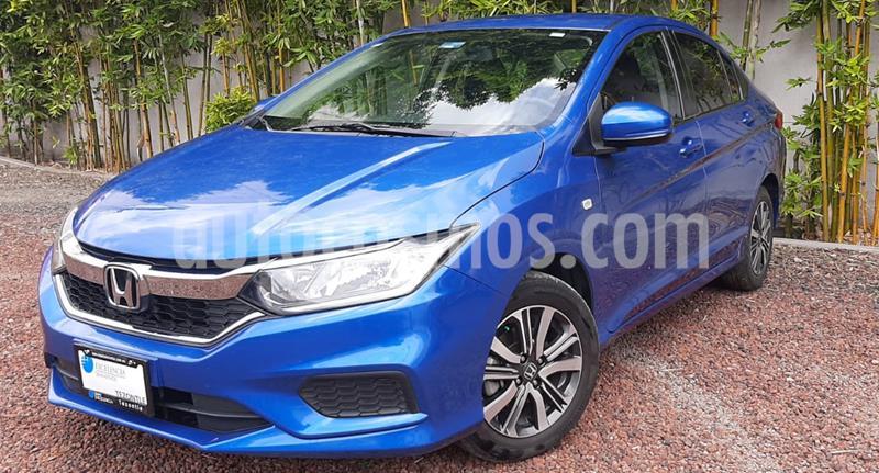 Honda City EX 1.5L usado (2018) color Azul precio $225,000