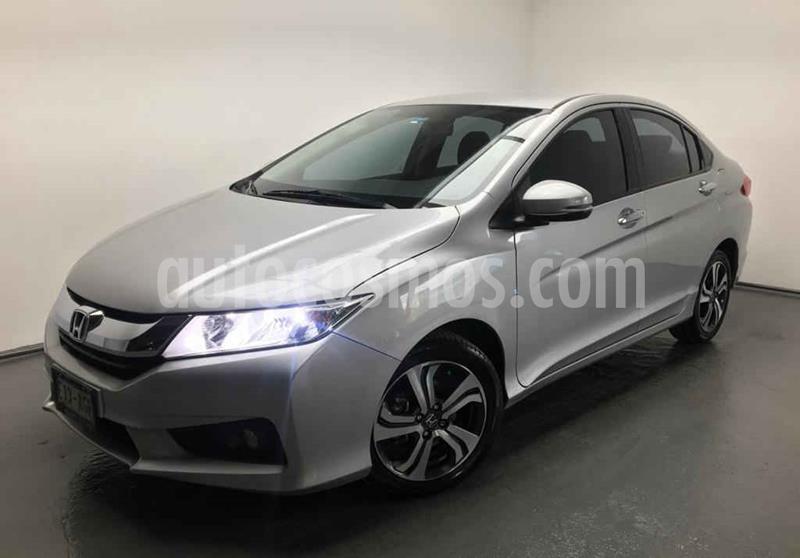 Honda City EX 1.5L Aut usado (2016) color Plata precio $195,000