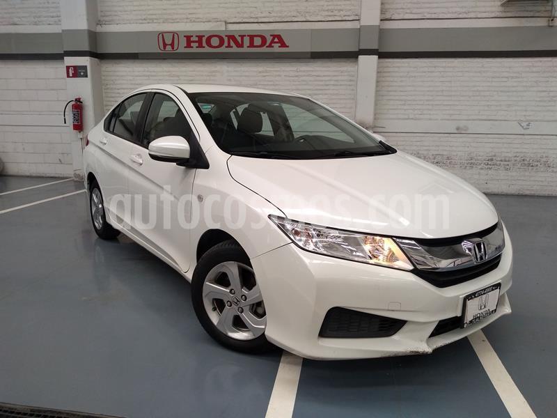 Honda City LX 1.5L usado (2016) color Blanco precio $179,000
