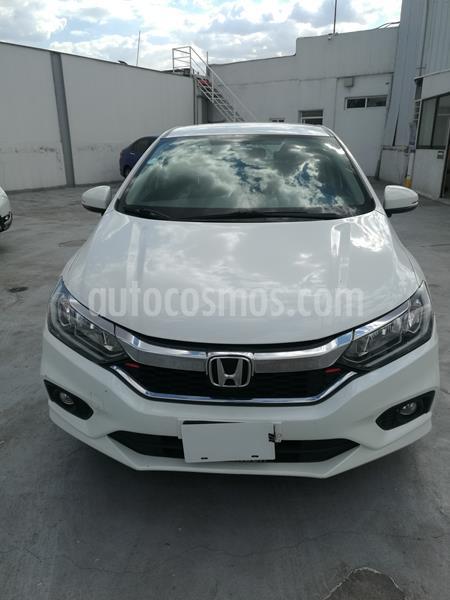 Honda City EX 1.5L Aut usado (2018) color Blanco precio $215,000