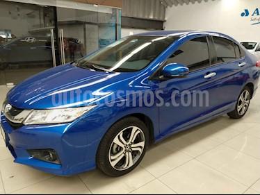 Honda City 4p EX L4/1.5 Aut usado (2017) color Azul precio $225,000