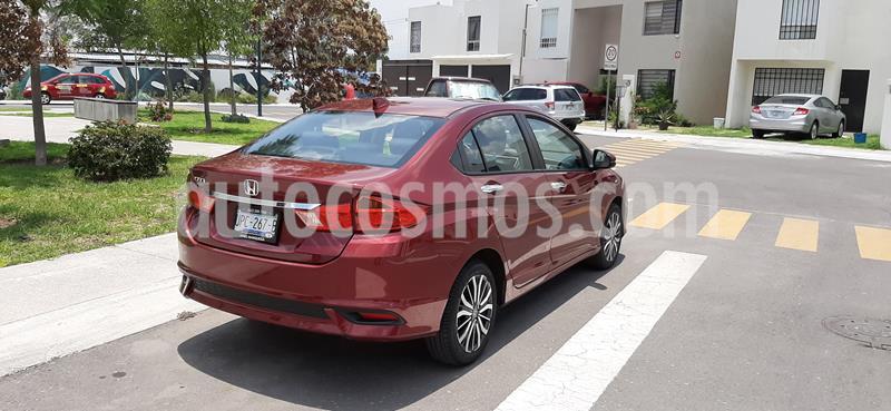 Honda City EX 1.5L Aut usado (2020) color Rojo Granada precio $290,000