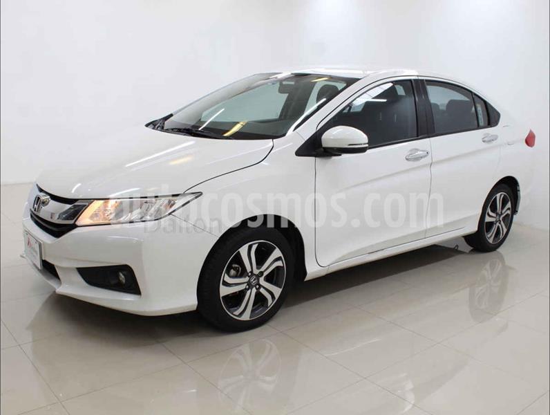 Honda City EX 1.5L Aut usado (2017) color Blanco precio $209,000