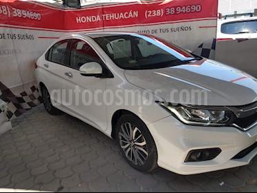 Honda City EX 1.5L Aut usado (2018) color Blanco Marfil precio $214,000