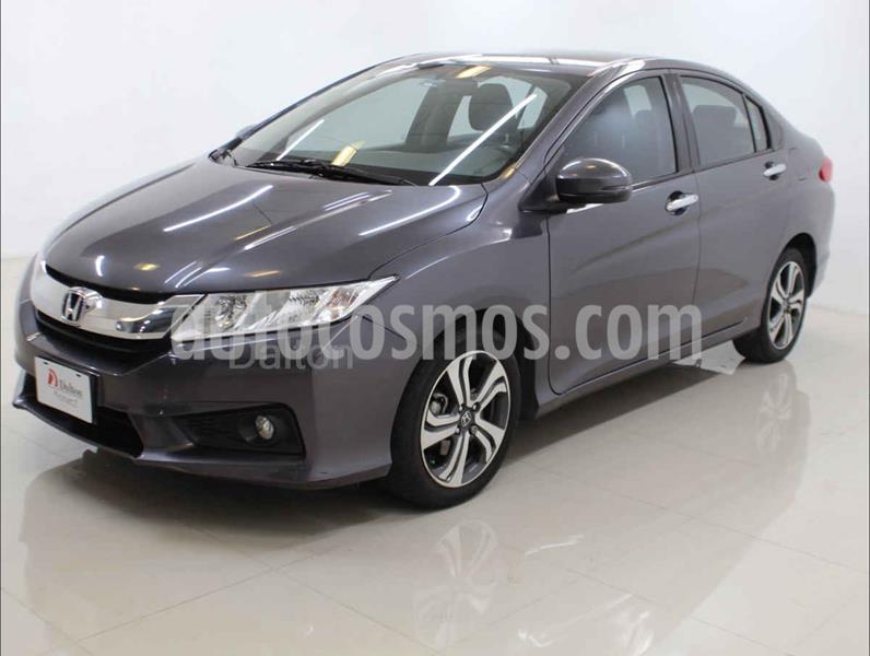 Honda City EX 1.5L Aut usado (2016) color Gris precio $190,000