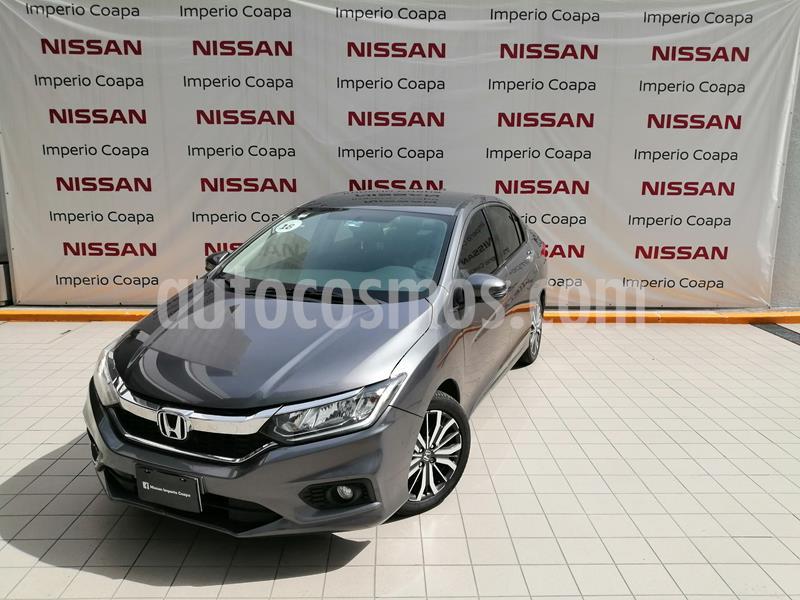 Honda City EX 1.5L Aut usado (2018) color Acero precio $239,000