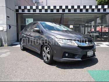 Honda City EX 1.5L usado (2017) color Gris precio $198,000