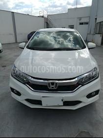 Honda City EX 1.5L Aut usado (2018) color Blanco precio $210,000