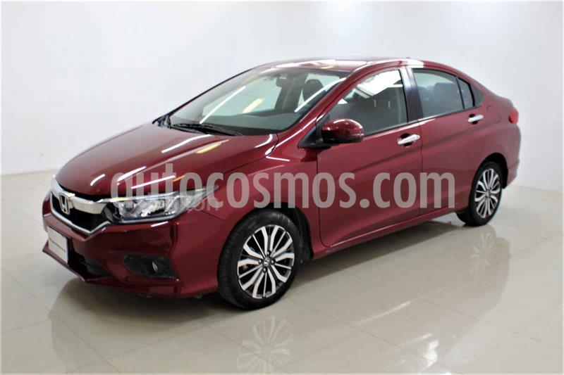 Foto Honda City EX 1.5L Aut usado (2019) color Rojo precio $249,000